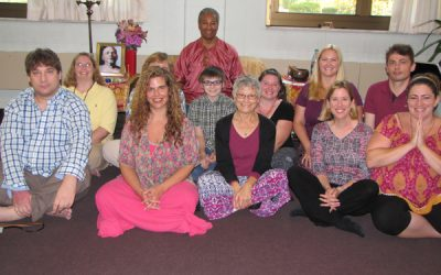 week-long meditation retreat